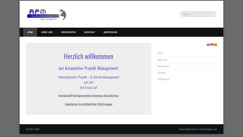 APM | Automotive  Project  Management