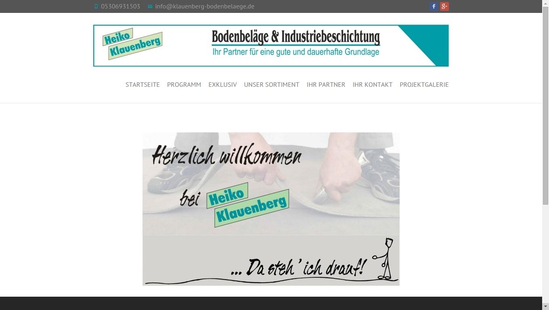 Responsive Website Klauenberg