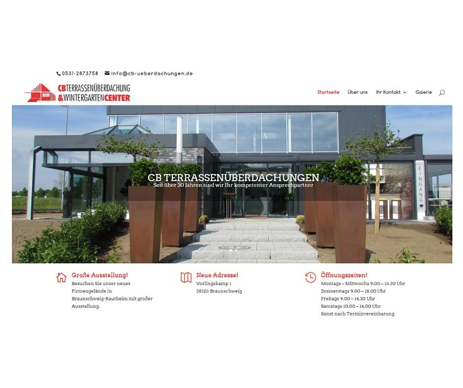 CB-Terrassenüberdachungen Braunschweig