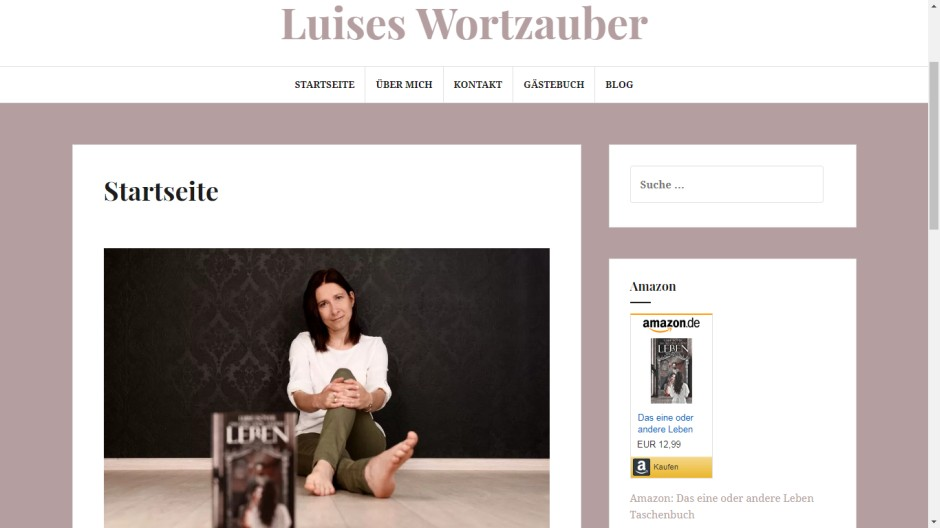Luise Isover Autorin
